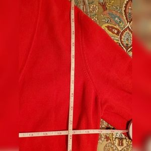 Designers Originals Sweaters - Red Open Cardigan